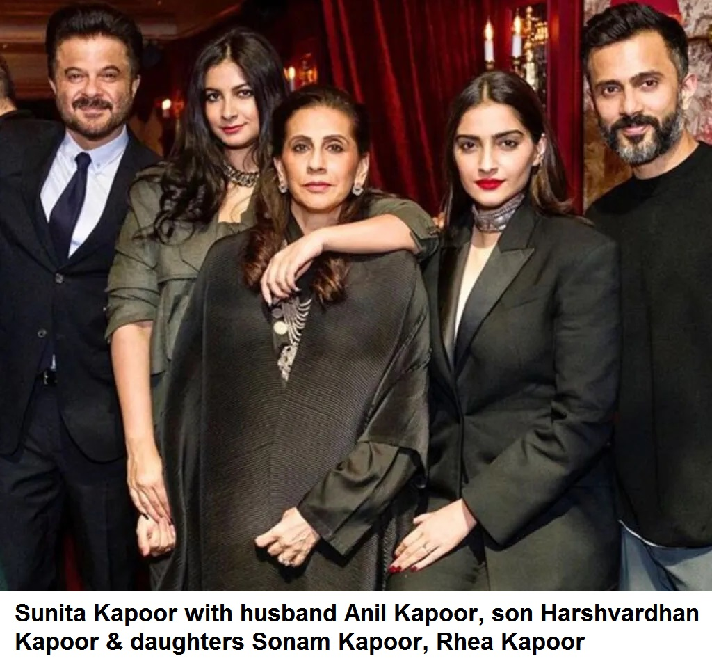 Sunita Kapoor (Anil Kapoor's Wife) Biography, Age, Love Story, Family, Facts, Wiki & More